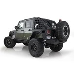 Smittybilt C.R.E.S. Trail Net Diamond Black 07-14 Wrangler JK 4-Door