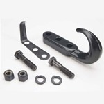 Smittybilt Tow Hook Kit Black 76-06 CJ/TJ/LJ Wrangler