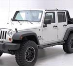Smittybilt SRC Classic Rock Rails No Step 07-12 Wrangler JK 4-Door
