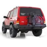 Smittybilt XRC Rear Tire Carrier Bumper 84-01 Cherokee XJ