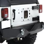 Smittybilt XRC Rear Bumper w/ Hitch 07-12 Wrangler JK 2/4-Door