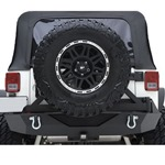 Smittybilt XRC Armor Rear Bumper with Hitch & Tire Carrier 07-12 Wrangler JK 2/4-Door