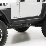 Smittybilt XRC Rock Guards w/ Step Black 87-95 Wrangler