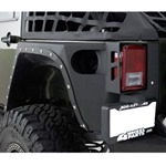 Smittybilt XRC Full Rear Corner Armor 07-12 Wrangler JK 2-Door