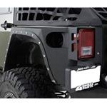 Smittybilt XRC Full Rear Corner Armor 07-12 Wrangler JK 4-Door