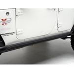 Smittybilt XRC Rock Sliders Black 07-12 Wrangler JK 4-Door