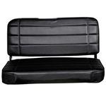 Smittybilt Standard Rear Seat Vnyl Black 55-95 CJ/ YJ