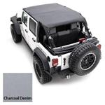 Smittybilt Extended Top Denim Gray 92-95 Wrangler