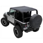 Smittybilt Mesh Extended Top 97-06 Jeep Wrangler TJ