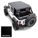 Smittybilt Extended Top Diamond Black 97-06 TJ Wrangler & Rubicon