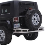 Smittybilt Tube Rear Bumper Textured Black 87-06 YJ/TJ/LJ