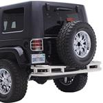 Smittybilt Rear Tube Bumper Textured Black 07-12 Wrangler JK 2/4-Door