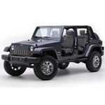 Smittybilt Sure Step 3in Tube Black 84-01 Cherokee 4-Door