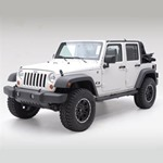 Smittybilt Sure Step 3in Tube Black 07-12 Wrangler JK 4-Door