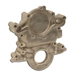 Explorer 96-01 5.0 Timing Chain Cover Aluminum use with Explorer reverse rotation water pump