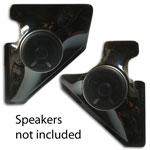 Kick Panel Speaker Pods For 5 1/4 inch Speakers