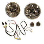 H4 Headlight Conversion Kit w/ Night Lighter Harness