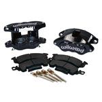 Wilwood Front Disc Brake Calipers Set Black Powder Coated