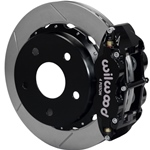 Wilwood Superlite 4R Big Brake Rear Parking Brake Kit 76-77 Bronco 17in Wheels Black