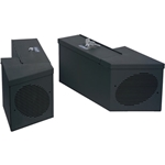 Tuffy 015-01 Speaker & Storage Security Lockbox Set w/ Roll Bar Cutout