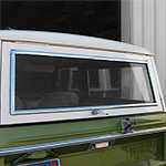 Chrome Liftgate Molding