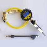 Power Tank TIG-8320 Digital Tire Inflator 150 PSI 2-Chucks Clip-on