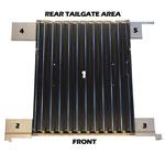 5 Piece Rear Floor Kit 66-76 Bronco