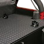 Tuffy 864-01-173 Commercial Grade Diamond Plate Vinyl Mat for #173 Security Deck Enclosure