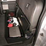 Tuffy 283-01 F-150 Under Rear Seat Lockbox (w/o subwoofer)