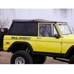 Rampage Speedy Trac Soft Top Black Crush With Tinted Zip Out Windows