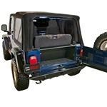 Tuffy 296-01 97-06 TJ Wrangler Security Tailgate Enclosure
