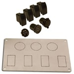 Accessory Power and Switch Plate With Accessory Kit