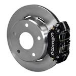 Wilwood Dynapro Lug Mount Rear Parking Brake Kit 66-75 Lg Bear Bronco w/11x1 3/4 drums 15in Wheels B