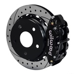 Wilwood Superlite 4R Big Brake Rear Parking Brake Kit 66-75 Lg Bear Bronco w/11x1 3/4 drums 17in Whe