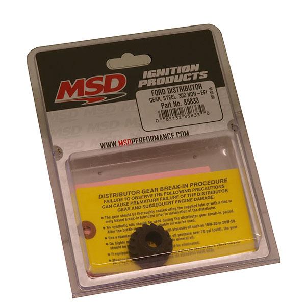 buy msd 85833 ford 302 steel gear for distributor non efi. Black Bedroom Furniture Sets. Home Design Ideas