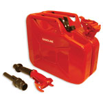 2.5 Gallon Red NATO Fuel Jerry Can
