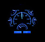 Dakota Digital Dash VHX Black Alloy/Blue 66-77 Bronco / 61-66 Pickup