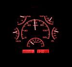 Dakota Digital Dash VHX Black Alloy/Red 66-77 Bronco / 61-66 Pickup