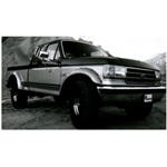 Bushwacker Front Cutout Fender Flares 87-91 Bronco