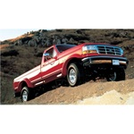 Bushwacker Rear Cutout Fender Flares 92-96 Bronco