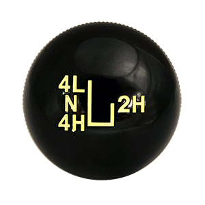 J-shift Transfer Case Knob 73-77
