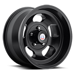 US Mags Indy 15x10 Wheel Vintage 1-Piece Cast Matte Black
