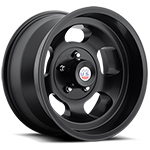 US Mags Indy Wheel Vintage 1-Piece Cast Matte Black 17x9