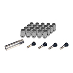 Chrome Spline Lug and Valve Stem Kit 1/2-20 NF