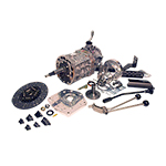 AX15 Kit with Brand New Transmission and Twin Stick For use with J-Shift 73-77 Bronco Dana 20