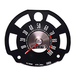 New Speedometer Gauge with Orange Speed Warning Line