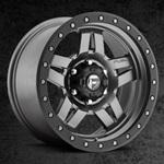 Fuel Anza Wheel 17x8.5 D558 Matte Anthracite w/Black Ring