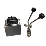 Stainless Steel J-shifter Twin Stick Kit