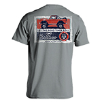 Laid Back Bronco Good Times Shirt in Light Grey