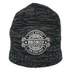 WH BRONCO Beanie Black/Charcol
